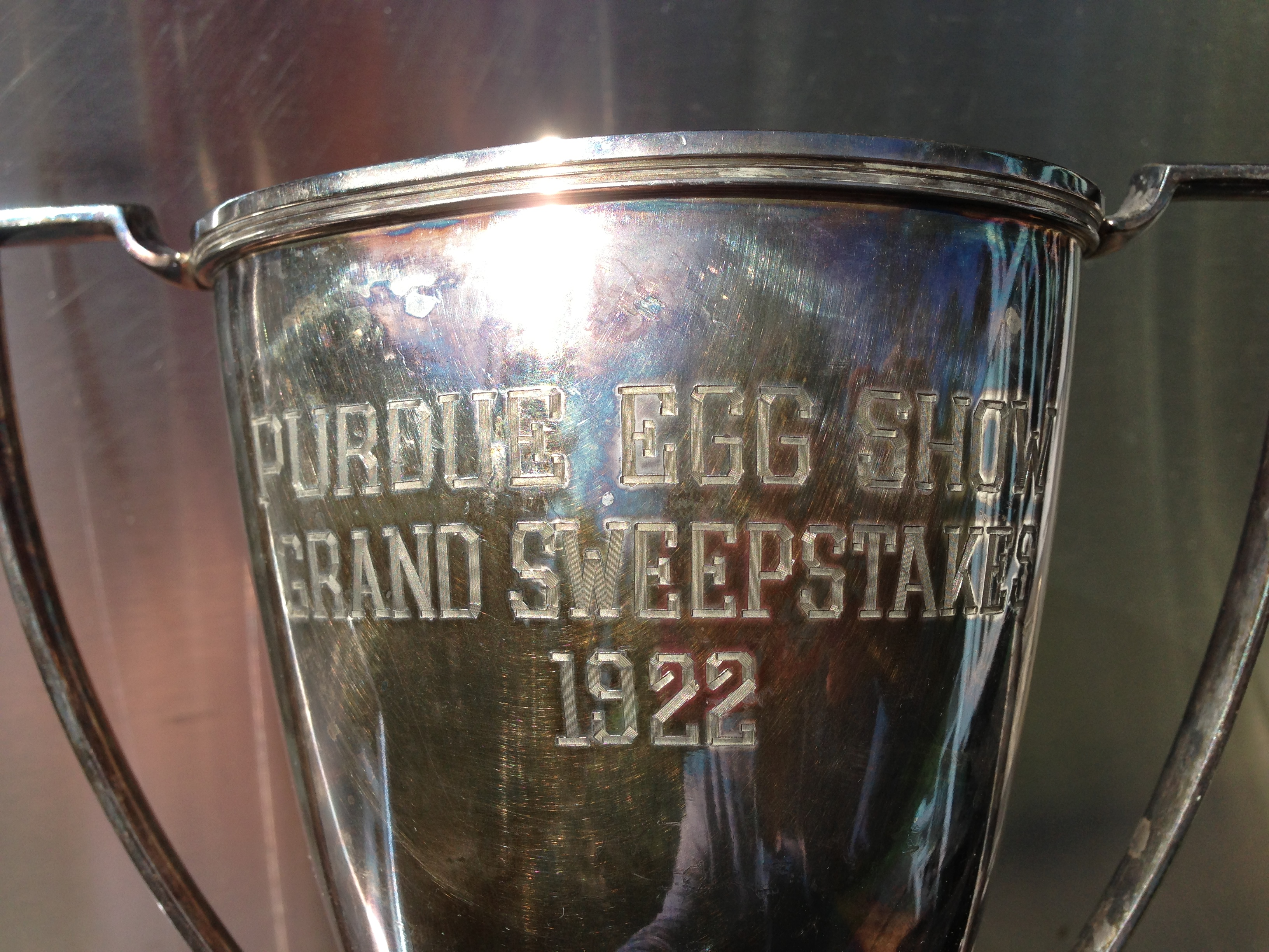 Purdue Egg Show Grand Sweepstakes Winner 1922