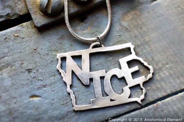 Iowa Nice Necklace