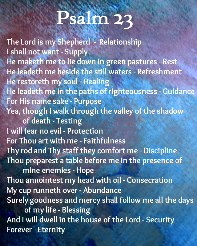 The 23rd Psalm 2